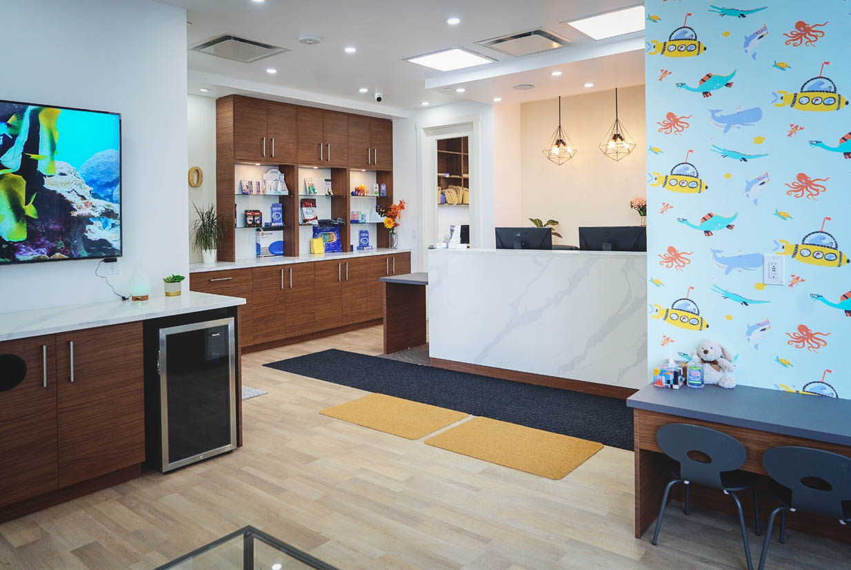 Waiting Area Looking to Reception | NE Calgary Physiotherapist | Max Physiotherapy