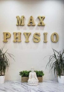 Welcome Sign Logo | NE Calgary Physiotherapist | Max Physiotherapy